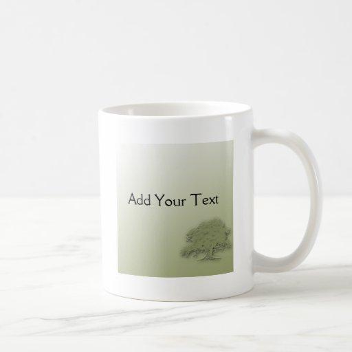 Giant Oak on Green Field Mug