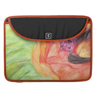 Giant Orange Poppy Macbook Pro Sleeve