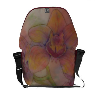 Giant Orchid Courier Bags