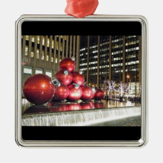 Giant Ornaments NYC