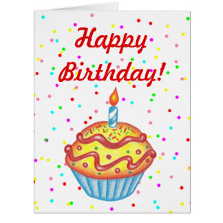 large greeting cards  zazzle, Birthday card
