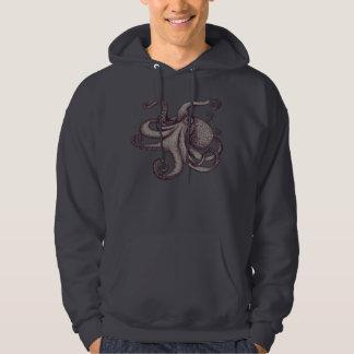 Giant Pacific Octopus Ink Sketch Hoodie