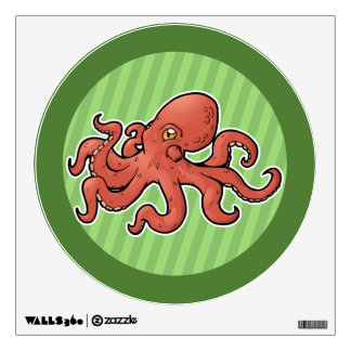 Giant Pacific Octopus Wall Decal