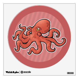 Giant Pacific Octopus Wall Sticker