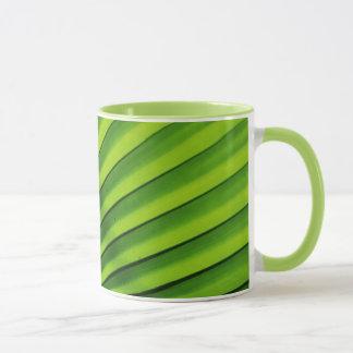 Giant Palm Leaf Pattern Mug