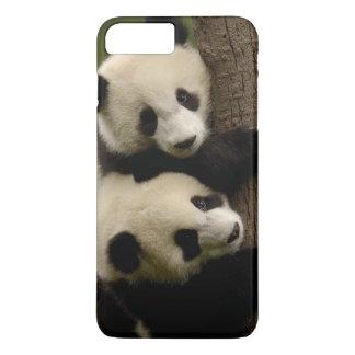 Giant panda babies (Ailuropoda melanoleuca) 2 iPhone 8 Plus/7 Plus Case