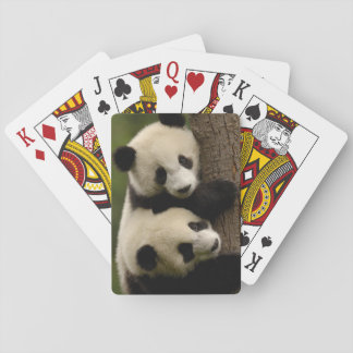 Giant panda babies (Ailuropoda melanoleuca) 2 Playing Cards