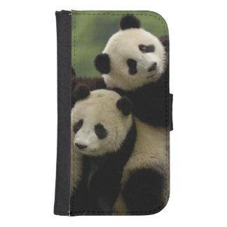 Giant panda babies Ailuropoda melanoleuca) 4 Samsung S4 Wallet Case