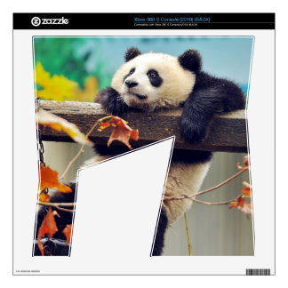 Giant panda baby over the tree decals for xbox 360 s