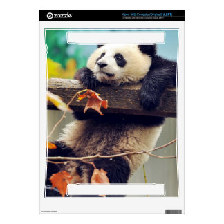 Giant panda baby over the tree xbox 360 skins