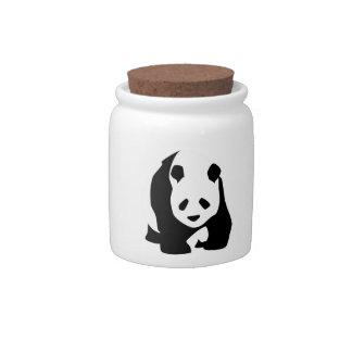Giant Panda Bear Candy Dishes