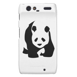 Giant Panda Bear Droid RAZR Cases