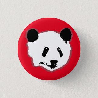Giant Panda Bear Face Pinback Button
