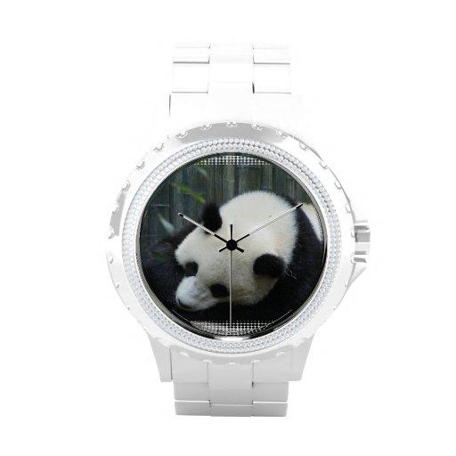 Giant Panda Bear Wristwatch