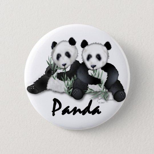 Giant Panda Bears Button