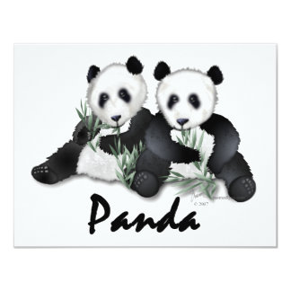 Giant Panda Bears Card