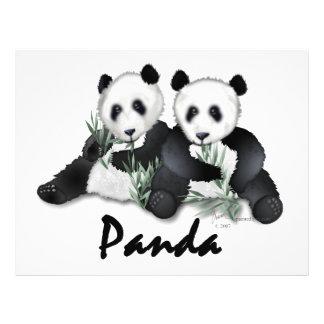 Giant Panda Bears Full Color Flyer