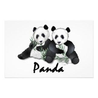 Giant Panda Bears Stationery
