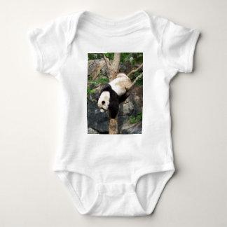 Giant Panda Climbing Down Tree T Shirt