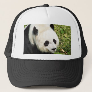 Giant Panda Close Up Portrait Trucker Hat