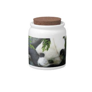 Giant Panda Cookie Jar Candy Dish