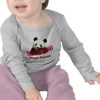 Giant Panda Endangered products Tee Shirts