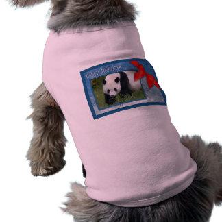 Giant Panda or Baby Panda Christmas Pet Clothing D
