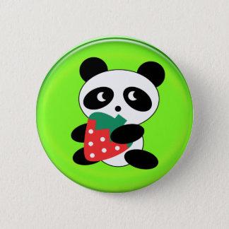 giant panda pinback button