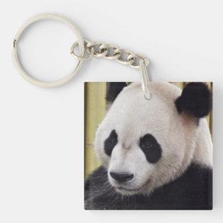 Giant Panda Portrait Keychain