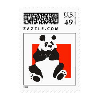 Giant Panda Postage Stamps