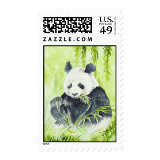 Giant Panda Postage Stamp