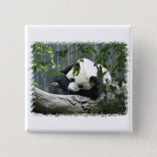 Giant Panda Square Pin
