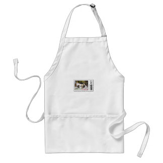 Giant panda Tai Shan and Mei Xiang Washington DC Adult Apron