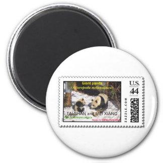 Giant panda Tai Shan and Mei Xiang Washington DC Magnet