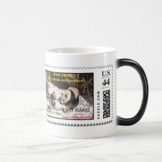 Giant panda Tai Shan and Mei Xiang Washington DC 11 Oz Magic Heat Color-Changing Coffee Mug
