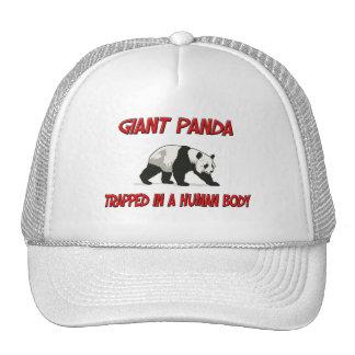 Giant Panda trapped in a human body Trucker Hat