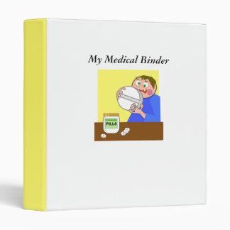 Giant Pill, My Medical Binder