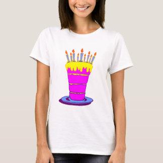 Giant Pink Birthday Cake T-Shirt