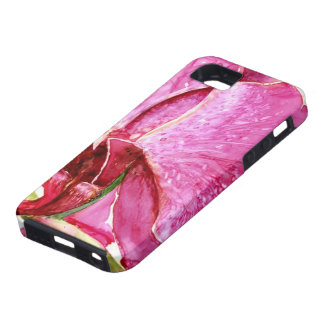 Giant Pink Orchid iPhone 5 Case