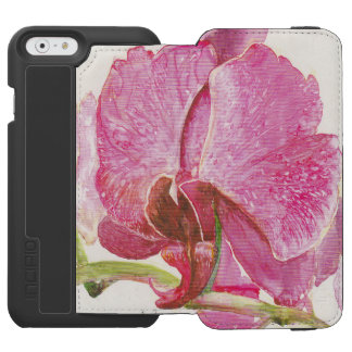 Giant Pink Orchid iPhone 6/6s Wallet Case