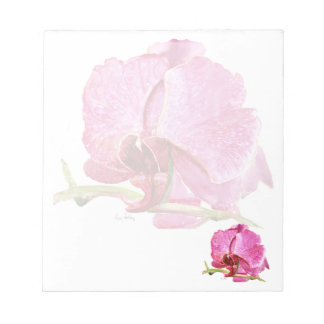 Giant Pink Orchid Notepad