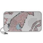Giant pink squid mosaic iPhone speakers