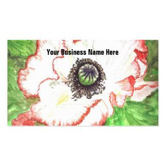 'Giant Poppy' Business Card