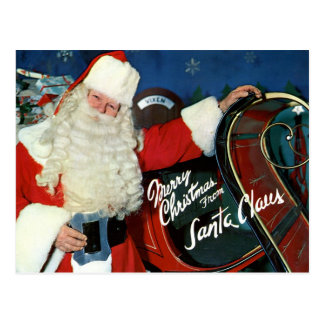 Giant-Post Card - Merry Christmas from Santa