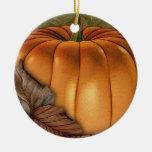 Giant Pumpkin Personalized Ornament