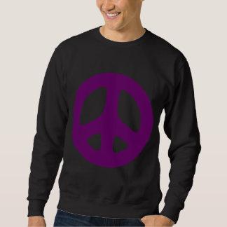Giant Purple Peace Sign Shirt