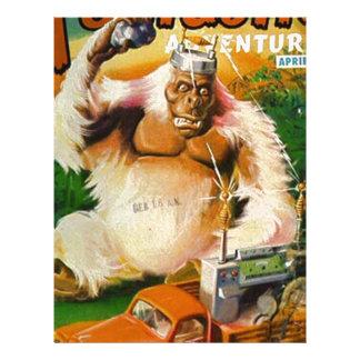 Giant Remote-controlled White Gorilla Letterhead