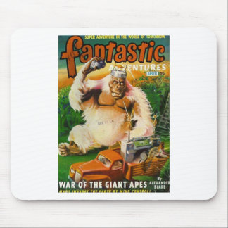 Giant Remote-controlled White Gorilla Mouse Pad