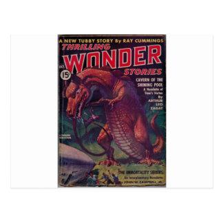 Giant Reptile Postcard