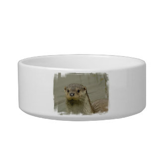 Giant River Otter Pet Bowl